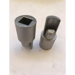 Adapter dolny 27 mm- stalowy